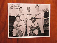 """James """"Red"""" Moore (Died in 2016) Negro League Signed 8"""" x 10"""" Photo"""