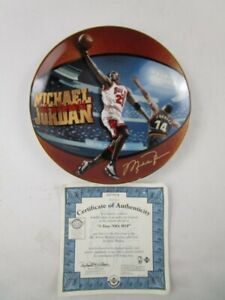 Upper Deck Michael Jordan 5 Time NBA MVP Collector Plate