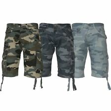 "Crosshatch Mid 7 to 13"" Inseam Camouflage Shorts for Men"