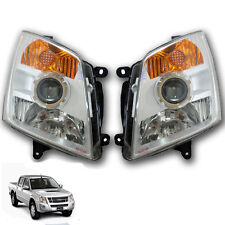 Head lamp lights Projector For 07-11 Chevrolet D-MAX Colorado UTE Holden Rodeo