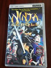 Ninja Scroll UMD SONY PSP PlayStation Anime Manga Fast Shipping! Suggested 17+