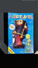 "Erhu Player Chinese Toy Doll 10""  Rare Vintage"
