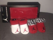 Micheal Jordan Newborn Infant Booties  0-6 Months