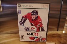 NHL 09  (Xbox 360, 2008) *Tested