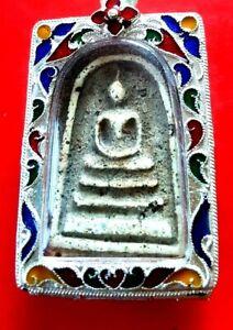 PHRA SOMDEJ TOH  WAT RAKANG PHIMYAI THAI AMULET WITH CERTI.REAL HLOY BUDDHA