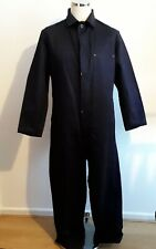Vintage deadstock 1960s British workwear back belt cotton boiler suit coveralls