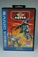 Sega Mega Drive game Exo Squad Megadrive