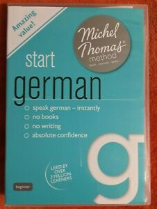 Total German Course Learn German with Michel Thomas Method (New BUT NOT Sealed)
