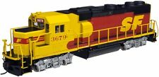 Escala H0 - Atlas Locomotora diésel GP39-2 Santa Fe con sonido 10001790 NEU