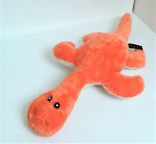 "Dowman Soft Touch Orange Sea Monster 18"" Soft Toy Plush Comforter   Excellent"