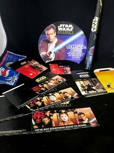Star Wars KFC Merchandise Promotional Food Boxes Bags Poster 1999 Rare Vintage
