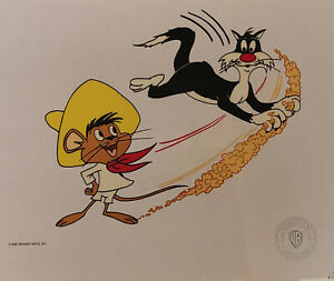 Warner Brothers Sylvester and Speedy Gonzales Model Sericel