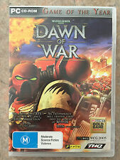 warhammer 40,000 Dawn of War game of the year edition PC game