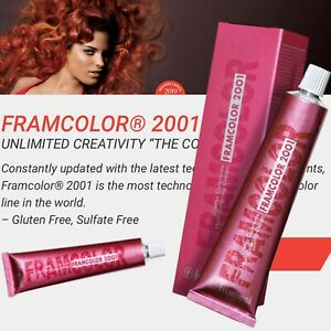 Framesi Framcolor 2001 Hair Coloring Cream 9NC Very Light Cool Blonde Hair Color