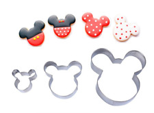 NEW MICKEY MOUSE COOKIE CUTTER SET   (1)