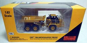 1/87 HO Norscot Scale Models Caterpillar CAT 730 Articulated Dump Truck