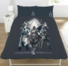 Boys Assassins Creed Kids Reversible Duvet Cover Bedding Set Single Double Boys