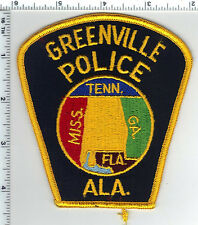 Greenville Police (Alabama) Shoulder Patch - New from the 1980's