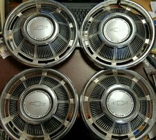 "NOS Set of 4 1969 Chevrolet Passenger Car Wheel Covers Hubcaps 14 "" OEM 3031"