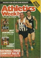 ATHLETICS WEEKLY MAGAZINE – 29 OCTOBER 1987 – GUNNELL KONCHELLAH - TRACK & FIELD