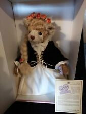 * Rapunzel Teddy Bear Annette Funicello Teddy Tales Designer Bear In Box *Coa