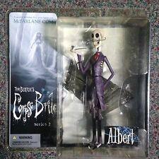 Albert, Tim Burton's The Corpse Bride Series 2 Action Figure McFarlane Toys NIP