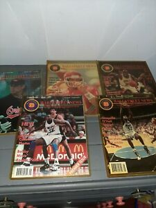 1993 BALLSTREET NEWS - VOLUME I, ISSUES 1-5 (5) VINTAGE MAGAZINES w/ PROMO PAGES