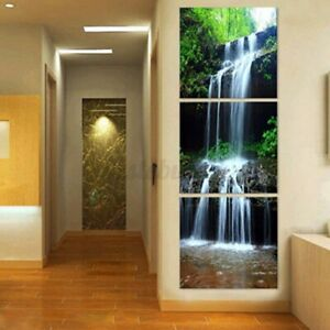 3 Pcs Unframed Canvas Print Home Decor Wall Art Painting Picture Landscape Home
