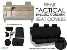 Rear Tactical Ballistic Cordura Seat Covers for 2016-2019 Toyota Tacoma
