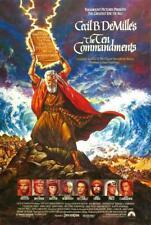 THE TEN COMMANDMENTS SUPER 8 COLOUR SOUND 3 X 400FT CINE FILM 8MM RARE