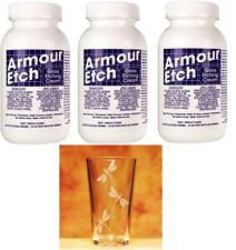 Glass Etching Cream 80g (2.8oz) Armour Etch® X 3 (Three Bottles)