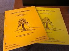 Dimensional Embroidery Books 1 2 Brazilian Zeann Aguilar Patterns Stitch Guide