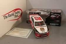 2018 Ryan Blaney Autographed Body Armor 1:24 Nascar Diecast - Red Paint Pen