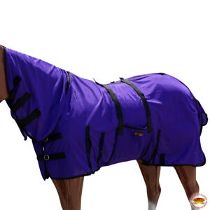 Hilason Uv Protect Mesh Bug Mosquito Horse Fly Sheet Summer Spring Purple U-S106