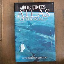 THE TIMES ATLAS OF THE WORLD Comprehensive Edition Sixth Edition 1980 HC DJ