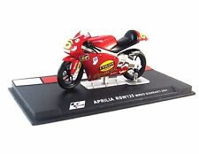APRILIA RSW 125 #6 RED IXO ALTAYA 1:24 DIECAST MOTORCYCLE COLLECTOR'S MODEL, NEW
