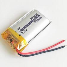 3.7V 500mAh 802035 Lipo Polymer Battery For MP3 MID DVD GPS bluetooth 802035