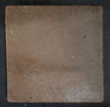 "Vintage Handcraft Field Tile-6"" Dark Brown"