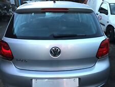 GENUINE 2009-2013 VW POLO 6R 5 DOOR REAR TAIL GATE BOOT LID IN SILVER
