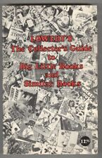 Lowery's The Collector's Guide to Big Little and Similar Books 1981