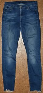"""Jeans, 7 for all mankind, Gr. 26, """"high waist skinny"""""""