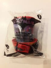 New Lego Batman Movie McDonalds Happy Meal Toy #1 Batman Batgirl Cup 2017