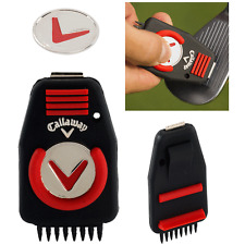 Callaway CNC Golf Groove Cleaner Outil + Balle Marqueur