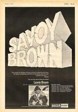 Savoy Brown Lion's Share UK Tour advert 1973