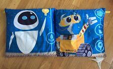 Set Of 2 Disney Pixar Wall-E Pillows 13 X 13