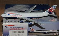 Aeroclassics/Craftsman 400 1/400 b747-400 British Airways World Cargo n495mc