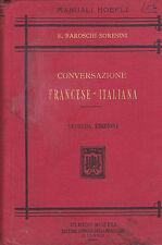 CONVERSAZIONE FRANCESE - ITALIANA