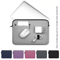 Notebook Cover Laptop Sleeve Case Bag For MacBook Air Pro Lenovo HP Dell Asus