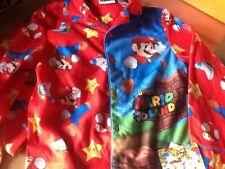 Boys pajamas Mario  pjs size 8  boys  button down pants