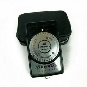 Vintage Hanimex PR110 Light Meter And Case Working In Great Condition